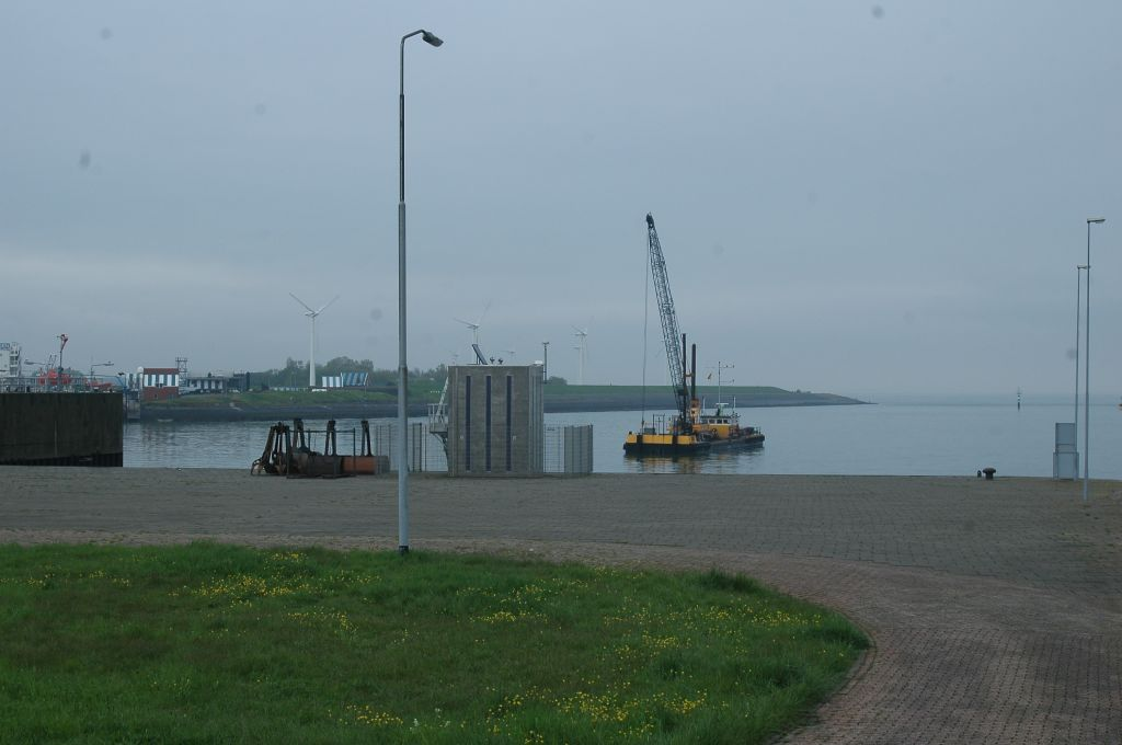 Surrounding of the Vlissingen tide-gauge station.