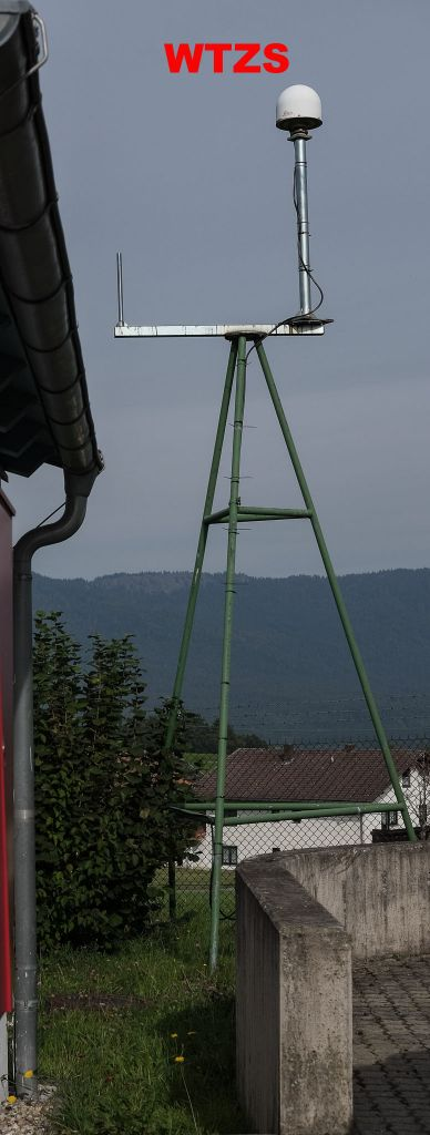 antenna mount WTZS direction east