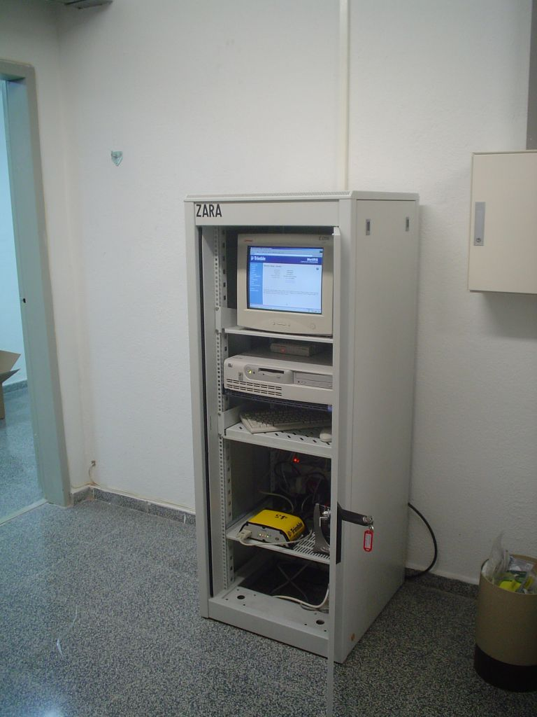 equipment rack.