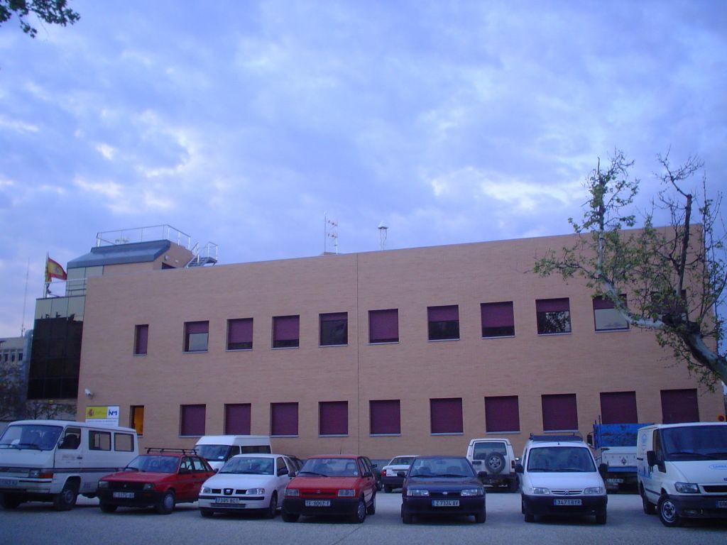 National Meteorologic Institute facilities in Zaragoza.