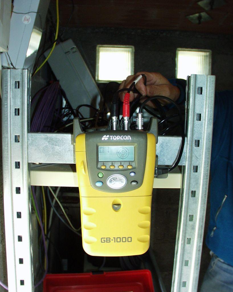 Topcon GB-1000 GNSS receiver, UNAVCO version.