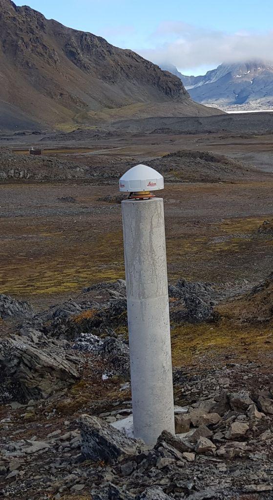PPSH antenna and pillar.